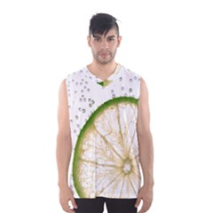 Lime Men s Basketball Tank Top by Jojostore