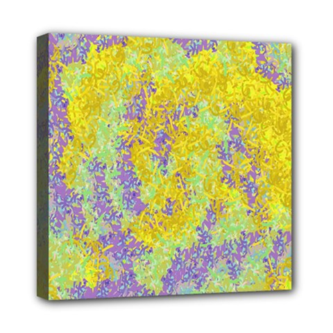 Backdrop Background Abstract Mini Canvas 8  x 8  by Nexatart