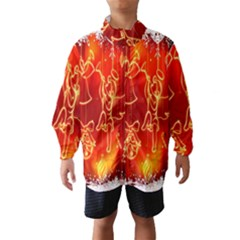 Christmas Widescreen Decoration Wind Breaker (kids) by Nexatart