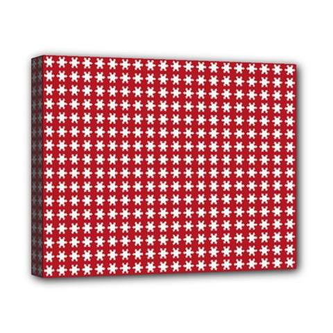 Christmas Paper Wrapping Paper Canvas 10  X 8  by Nexatart