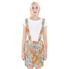Flowers Background Backdrop Floral Suspender Skirt by Nexatart