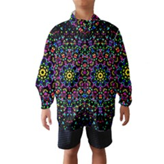 Fractal Texture Wind Breaker (kids) by Nexatart