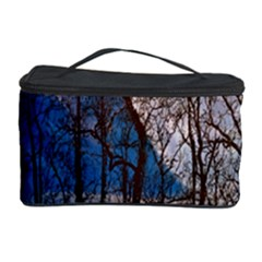 Full Moon Forest Night Darkness Cosmetic Storage Case by Nexatart