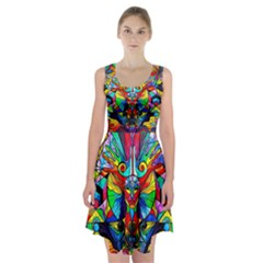 Human Self Awareness   Racerback Midi Dress by tealswan