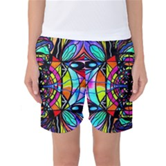 Planetary Vortex   Women s Basketball Shorts by tealswan