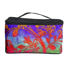 Tree Colorful Mystical Autumn Cosmetic Storage Case by Nexatart