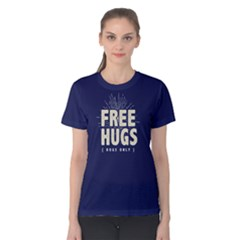 Free Hugs Dogs Only   Women s Cotton Tee by FunnySaying
