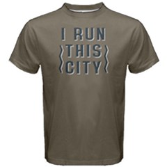 I Run This City   Men s Cotton Tee