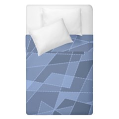 Lines Shapes Pattern Web Creative Duvet Cover Double Side (single Size) by Amaryn4rt