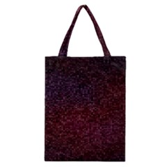 3d Tiny Dots Pattern Texture Classic Tote Bag