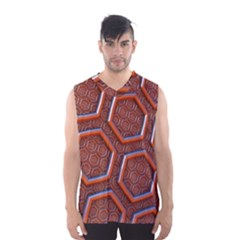 3d Abstract Patterns Hexagons Honeycomb Men s Basketball Tank Top by Amaryn4rt