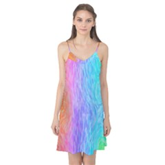 Abstract Color Pattern Textures Colouring Camis Nightgown