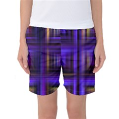 Background Texture Pattern Color Women s Basketball Shorts by Simbadda