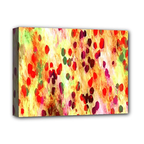 Background Color Pattern Abstract Deluxe Canvas 16  X 12   by Simbadda
