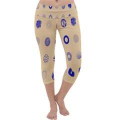 Art Prize Eight Sign Capri Yoga Leggings