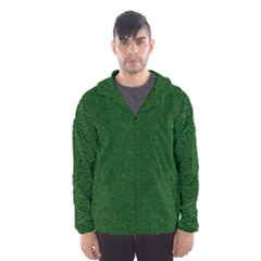 Texture Green Rush Easter Hooded Wind Breaker (men) by Simbadda