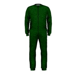 Texture Green Rush Easter Onepiece Jumpsuit (kids) by Simbadda