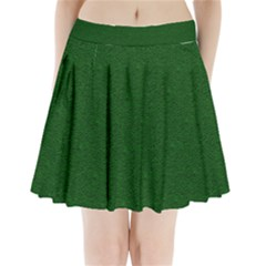 Texture Green Rush Easter Pleated Mini Skirt by Simbadda