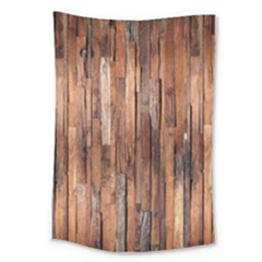 Wall Wood Large Tapestry by makeunique