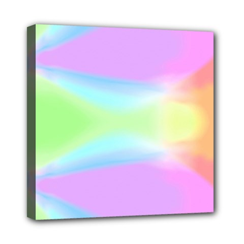 Abstract Background Colorful Mini Canvas 8  x 8  by Simbadda