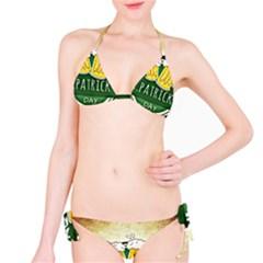 Irish St Patrick S Day Ireland Beer Bikini Set