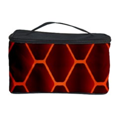 Snake Abstract Pattern Cosmetic Storage Case by Simbadda