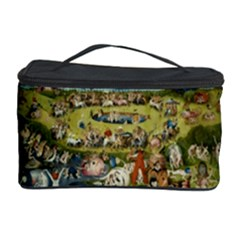 Hieronymus Bosch Garden Of Earthly Delights Cosmetic Storage Case by MasterpiecesOfArt