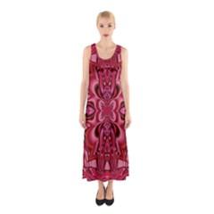 Secret Hearts Sleeveless Maxi Dress