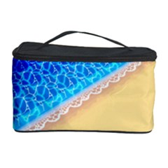 Beach Sea Water Waves Sand Cosmetic Storage Case by Alisyart