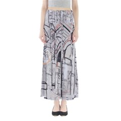 Cityscapes England London Europe United Kingdom Artwork Drawings Traditional Art Maxi Skirts