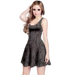 Black Ravens Pattern Reversible Sleeveless Dress