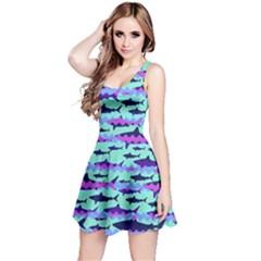 Blue Shark Reversible Sleeveless Dress