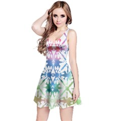Colorful Tie Dye Reversible Sleeveless Dress by CoolDesigns