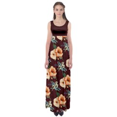Hawaii2 Empire Waist Maxi Dress by CoolDesigns