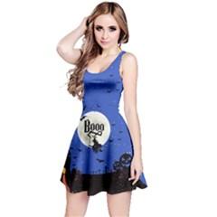 Blue Booo Reversible Sleeveless Dress