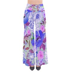Mintfloral Chic Palazzo Pants by CoolDesigns