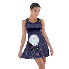Witch Night Cotton Racerback Dress by CoolDesigns