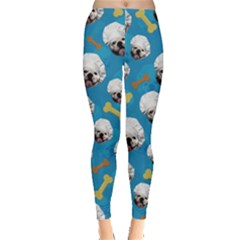 Bulldog Cook Leggings  by CoolDesigns