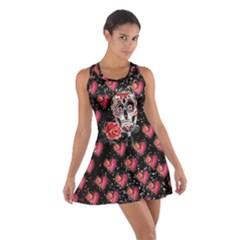 Heart Skull Cotton Racerback Dress