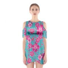 Mint Hawaii 2 Cutout Shoulder One Piece by CoolDesigns