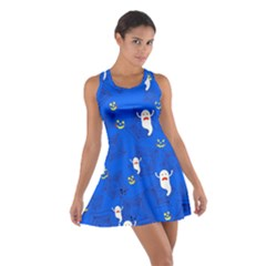 Blue Ghost Cotton Racerback Dress by CoolDesigns