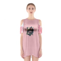 Pinky Girl Women s Cutout Shoulder Dress by CoolDesigns
