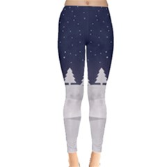 Snow Time Leggings  by CoolDesigns