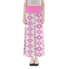Pink Aztec Maxi Skirt by CoolDesigns