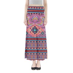Purple Aztec Maxi Skirt by CoolDesigns