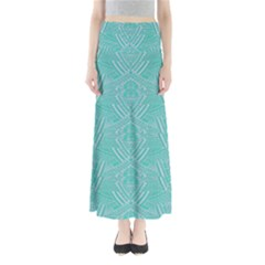 Mint Aztec Maxi Skirt by CoolDesigns