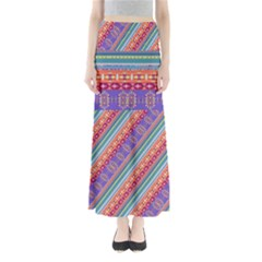 Colorful Aztec 2 Maxi Skirt by CoolDesigns
