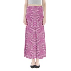 Pink Aztec 2 Maxi Skirt by CoolDesigns