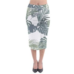 Palm Tree Midi Pencil Skirt by CoolDesigns