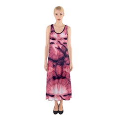 Magenta Tie Dye 2 Sleeveless Maxi Dress by CoolDesigns